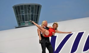 Sir Richard Branson blande Kate Moss