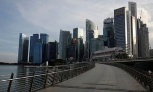 Los rascacielos de Singapur fueron construidos con mano de obra migrante.