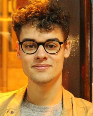 Marcus Matthews, estudiante en el último año de historia en la Universidad de Southampton.