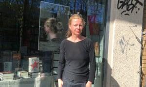 Kerstin Seefeldt, propietaria de Script Buchhandlung en Babelsberg.