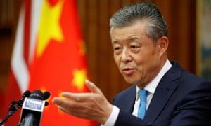 El embajador de China en Gran Bretaña, Liu Xiaoming.