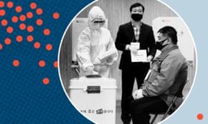 Votación en elecciones surcoreanas
