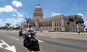 Edificio del Capitolio de La Habana.