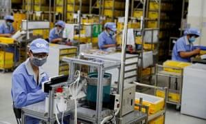 Fábrica del fabricante de componentes SMC en Beijing, China.