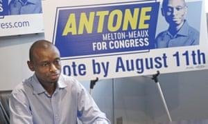 Antone Melton-Meaux, quinto candidato al Congreso