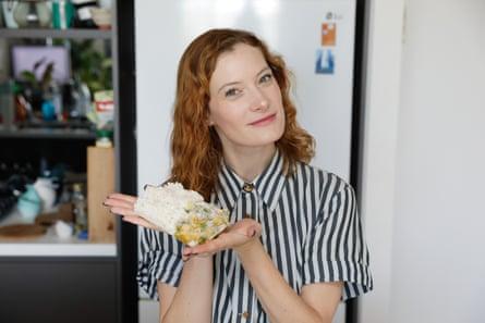Alyx Gorman con curry helado