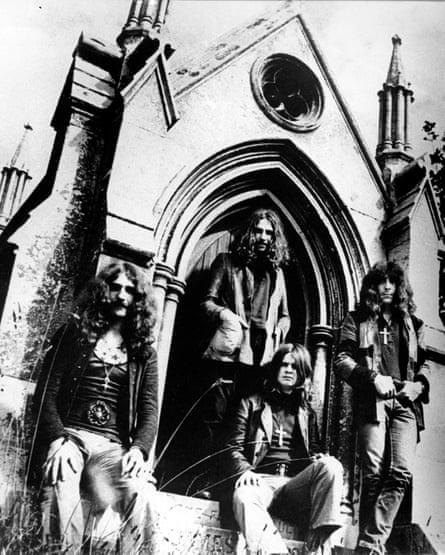 Black Sabbath, alrededor de 1970.