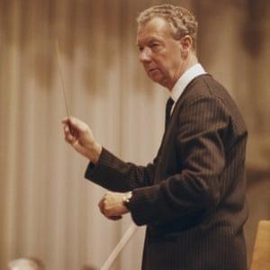 Britten, fotografiada a mediados de la década de 1960