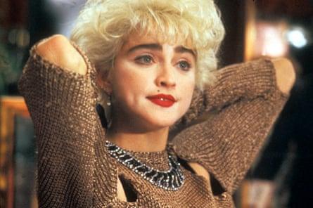 Madonna en la comedia romántica de 1987 Who's That Girl.