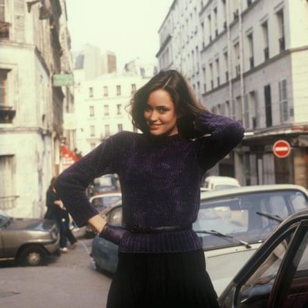 Jill Dodd en París en 1980.