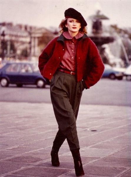 EJ Moran en 1981.