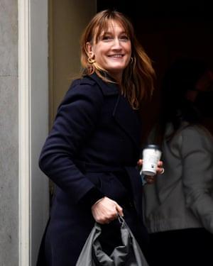 Allegra Stratton, nombrada secretaria de prensa de Downing Street el mes pasado.