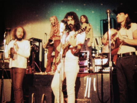 Frank Zappa con las Madres de la Invención.