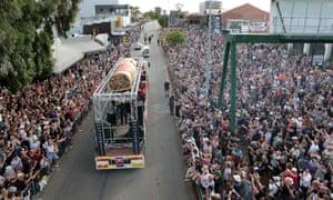 El evento Highway to Hell fue parte del Festival de Perth en 2020, el tipo de evento concurrido que no sucederá en 2021.