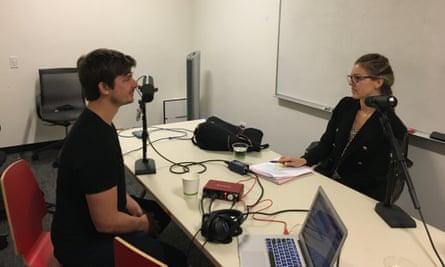 Naima Brown habla con Josh Tetrick, director ejecutivo de Just Inc