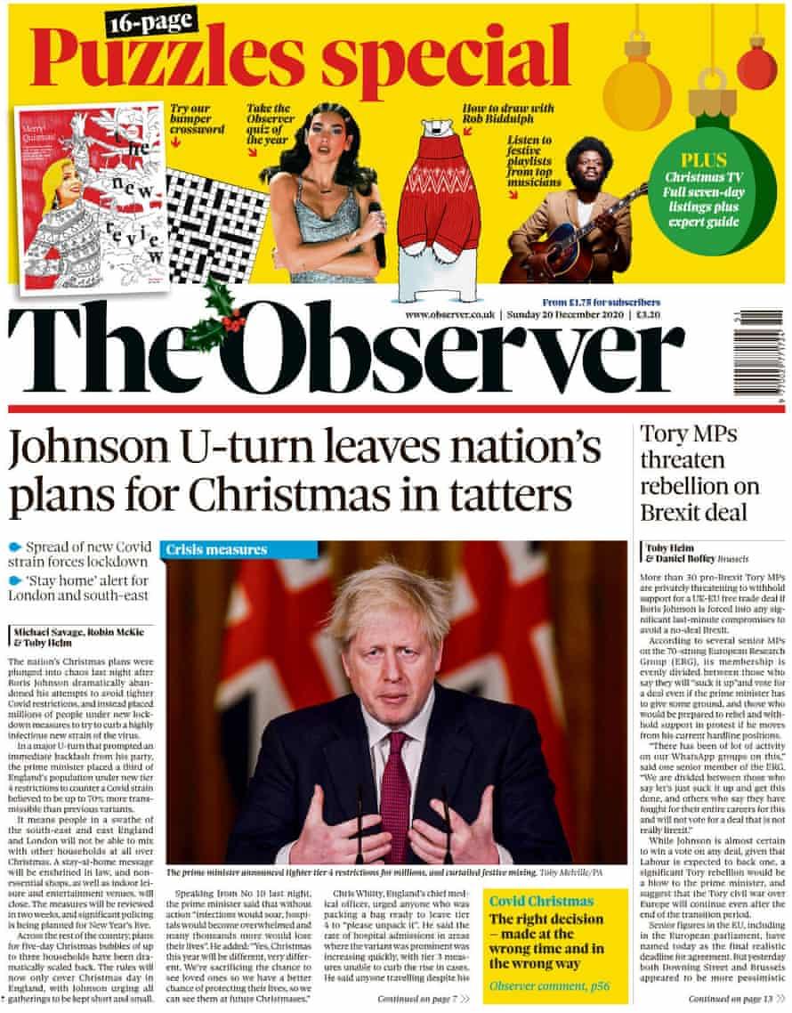 Observer, 20 de diciembre de 2020