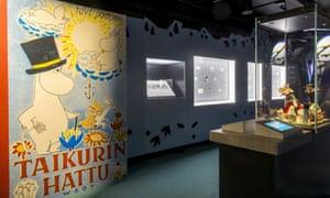 Interior del Museo Moomin, Tampere, Finlandia