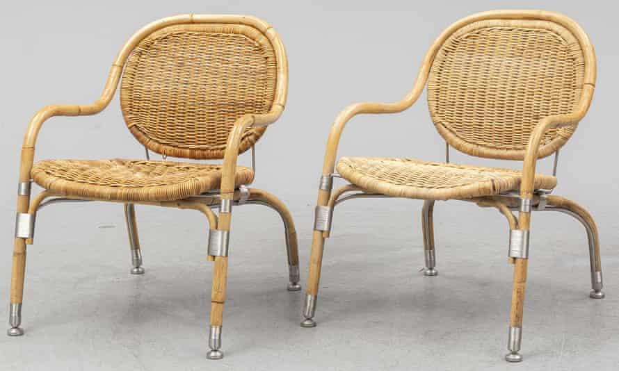 Sillas de la serie PS de Mats Theselius para Ikea
