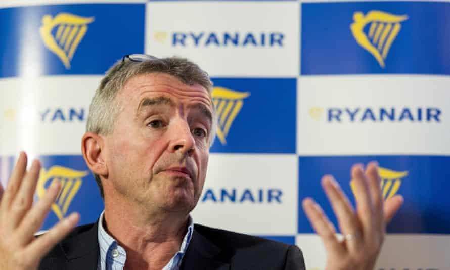 Michael O 'Leary de Ryanair, que ya ha pedido 210.737 aviones Max.