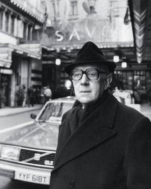 Alec Guinness como el espía de John Le Carré, George Smiley.