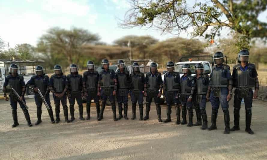 Guardias de seguridad de Zenith