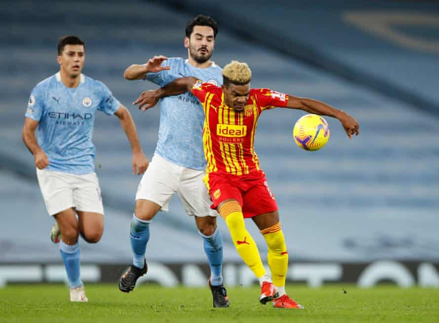 El Manchester City no pudo empatar 1-1 con West Bromwich Albion en diciembre, pero el juego ayudó a transformar su temporada.