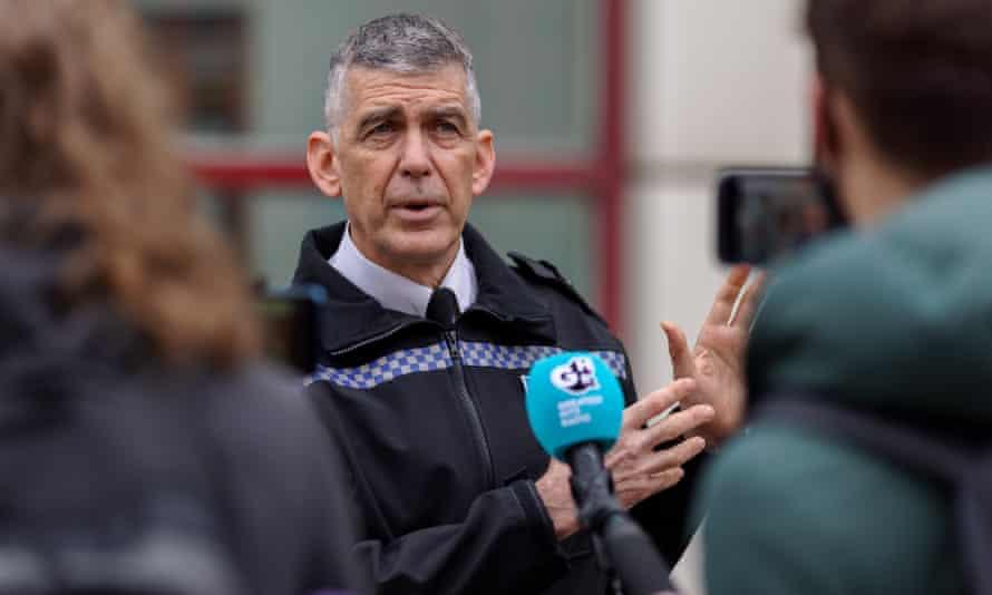 Andy Marsh, jefe de policía de Avon y Somerset