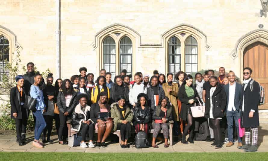 Día de celebración del pensamiento negro en Pembroke College, Oxford.
