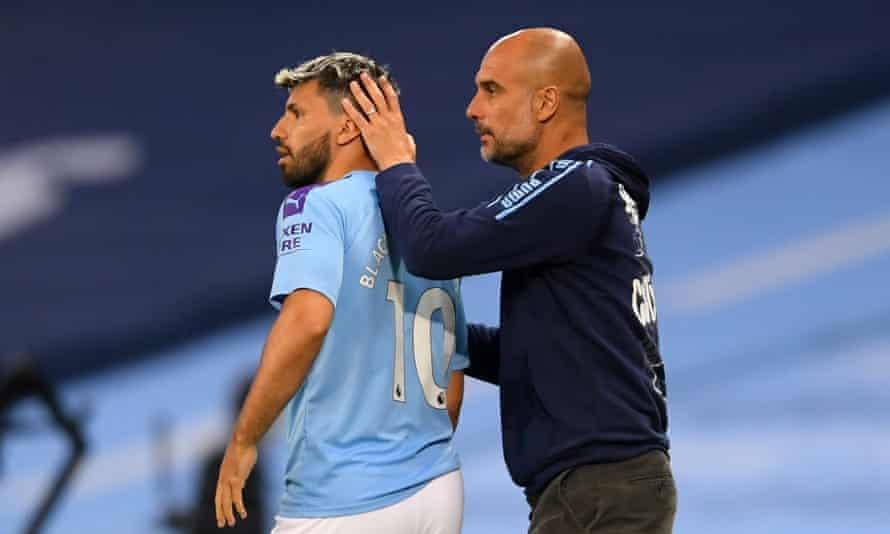 Sergio Agüero se ha tenido que adaptar a las exigencias de Pep Guardiola y admitió que el técnico del Manchester City a veces se enfada con él.