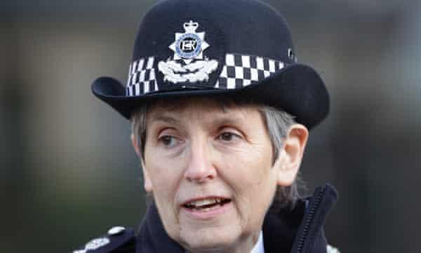 Comisionada de la Policía Metropolitana Cressida Dick