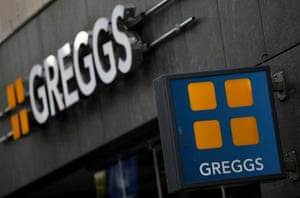 Una tienda Greggs en Liverpool