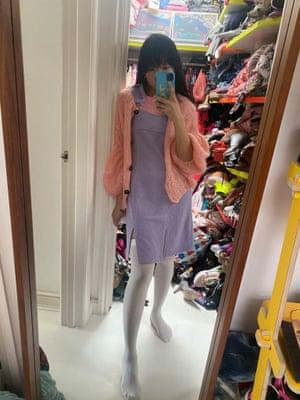 Selfie en el espejo de Susie Lau.