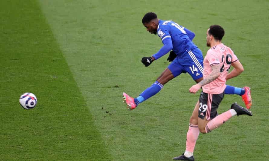 Kelechi Iheanacho ha estado en una forma letal para el Leicester, incluido un hat-trick contra el Sheffield United.