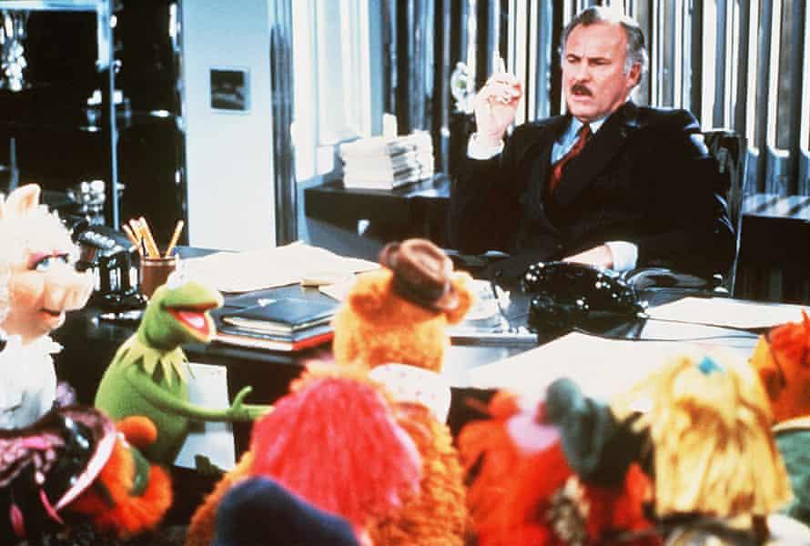 Dabney Coleman se encuentra con los Muppets.