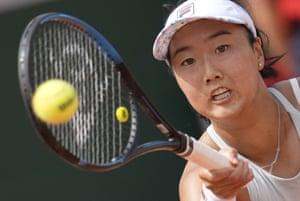Ann Li está jugando un regreso a Elina Svitolina.