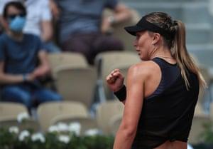 Paula Badosa tiene el control en este partido de cuarta ronda.