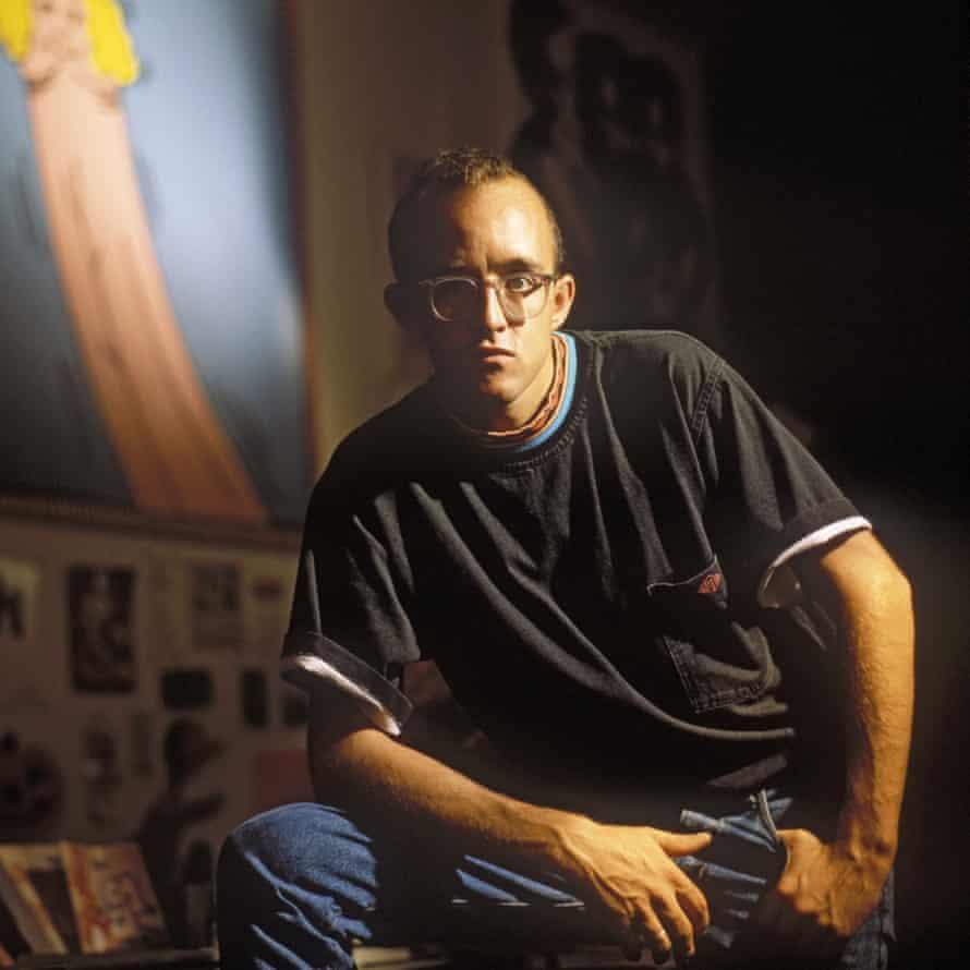 Keith Haring en 1986.