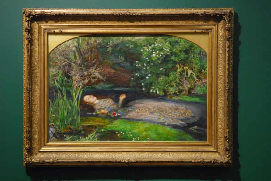 Ofelia de John Everett Millais (1851-2).