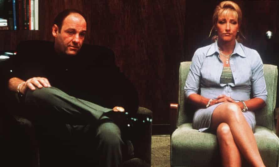 Empresa familiar ... James Gandolfini y Edie Falco.
