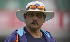 El entrenador indio Ravi Shastri