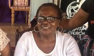 El difunto activista ambiental sudafricano Fikile Ntshangase, de 65 años, que se opuso a la ampliación de la mina a cielo abierto operada por Tendele Coal cerca de Somkhele.