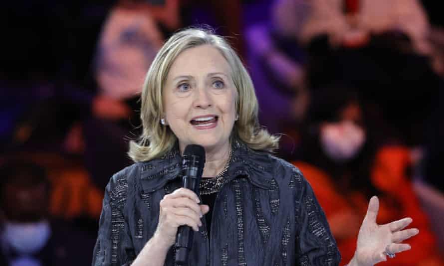 Hillary Clinton, exsecretaria de Estado de EE. UU.